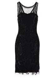 Derhy Garigliano Cocktail Dress Party Dress Noir Black