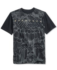 Sean John Men's Graphic Print T Shirt Black