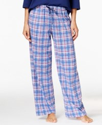 Karen Neuburger Printed Pajama Pants Navy Plaid