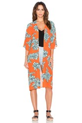 Minkpink Under Your Spell Robe Orange
