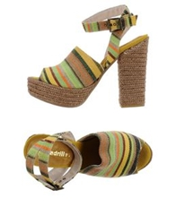 Espadrilles Sandals Light Green