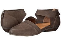 Gentle Souls Noreen Dark Brown Nubuck Women's Shoes