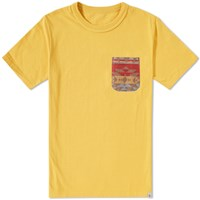 Visvim Native Blanket Pocket Tee Yellow