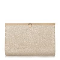 Linea Benni Penny Lock Clutch Bag Gold