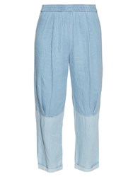 Raquel Allegra Tapered Leg Denim Trousers