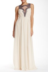 Little Mistress Embellished Baroque Gown White