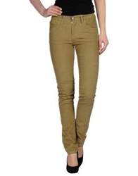 Monkee Genes Casual Pants Military Green