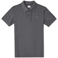 C.P. Company Classic Patch Polo Grey