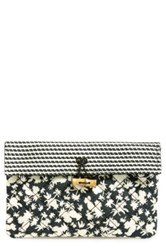 Maison Scotch Quilted Clutch Black