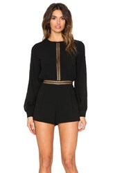 Endless Rose Iva Romper Black