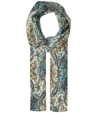 Bindya Lulla By Paisley Skinny 1 Mint Blue Scarves