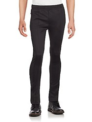 Diesel Black Gold Solid Pull On Pants Black