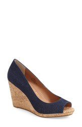 Women's Caslon 'Devin' Peep Toe Wedge