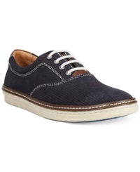 Johnston And Murphy Culling Sneakers Men's Shoes Navy