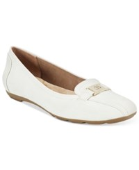 Giani Bernini Jileese Memory Foam Flats Only At Macy's Women's Shoes New White