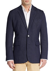 Robert Graham Classic Fit Chesterfield Sportcoat Navy