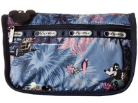 Le Sport Sac Travel Cosmetic Vacation Paradise Cosmetic Case Blue