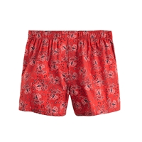 J.Crew Sante Fe Bandana Boxers Authentic Red