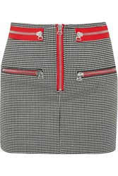 Isabel Marant Layla Stretch Wool Mini Skirt Black