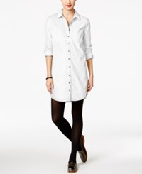 G.H. Bass And Co. Corduroy Shirtdress French Vanilla
