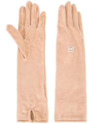 Theatre Products Long Gloves Brown