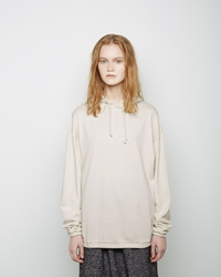 Base Range Oversized Hoodie Off White