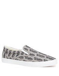 Bucketfeet Pineappleade Slip On Sneakers Grey
