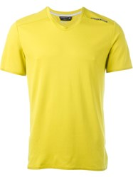 Adidas 'Porsche Design Sports' T Shirt Yellow And Orange