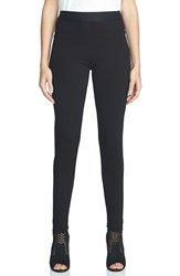 1.State Women's Ponte Leggings Rich Black