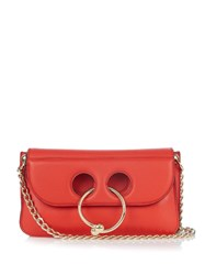 J.W.Anderson Pierce Leather Cross Body Bag Red