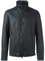 Drome High Neck Zipped Jacket Black
