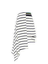 Preen Turkana Breton Striped Silk Skirt