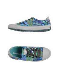 Desigual Low Tops And Trainers Azure