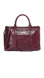 Rebecca Minkoff Regan Satchel Dark Cherry