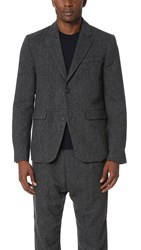 Robert Geller The Blazer Charcoal