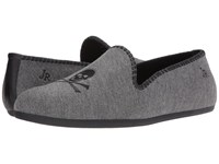 Jack Rogers Roy Grey Flannel Men's Flat Shoes Gray