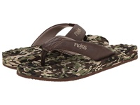 Flojos Xander Camo Brown Men's Sandals Olive