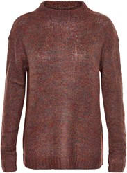 Soaked In Luxury High Neck Jumper Red