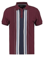 Merc Hessle Polo Shirt Wine Bordeaux