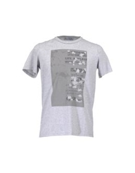 Lo Not Equal Short Sleeve T Shirts Light Grey