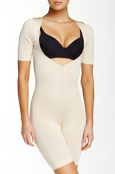 Joan Vass All In One Body Shaper Plus Size Available Beige
