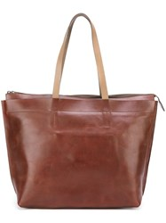 Ally Capellino Large 'Wintour' Tote Bag Brown