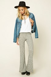 Forever 21 Marled Knit Fold Over Pants