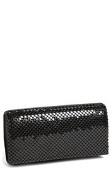 Jessica Mcclintock Mesh Clutch Black