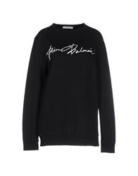 Pierre Balmain Topwear Sweatshirts Women Black