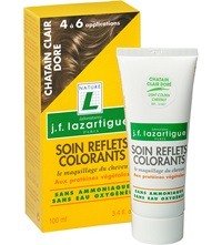 J.F.Lazartigue Colour Reflecting Conditioner Light Golden Chestnut 100Ml