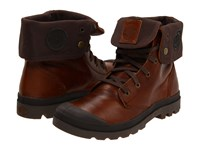 Palladium Baggy Leather Sunrise Chocolate Men's Lace Up Boots Brown