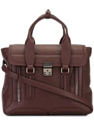 3.1 Phillip Lim Medium 'Pashli' Satchel Pink And Purple