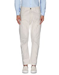Messagerie Trousers Casual Trousers Men White