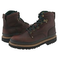 Georgia Boot G6374 6 Safety Toe Georgia Giant Brown Men's Work Lace Up Boots